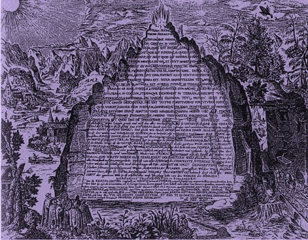 THE EMERALD TABLET ~ Source: Alchemy and Mysticism from The Hermetic Museum Author: Heinrich Khunrath Work: Amhitheatrum sapientae aeternae Date: 1606. This work is over 400 years old, in the public domain.