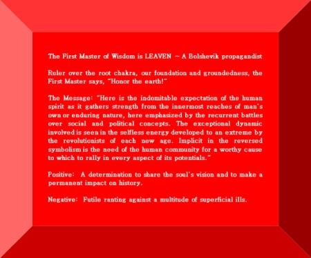 Click Gem to expand ~ Leo 8° A Bolshevik propagandist.