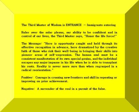 Click Gem to expand ~ Sagittarius 23° Immigrants entering.