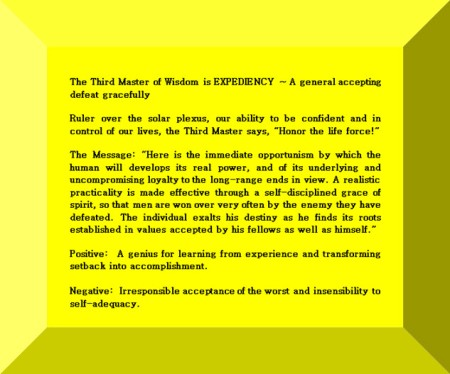 Click Gem to expand ~ Capricorn 22° A general accepting defeat gracefully.