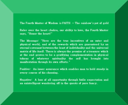 Click Gem to expand ~ Taurus 4° The rainbow's pot of gold.